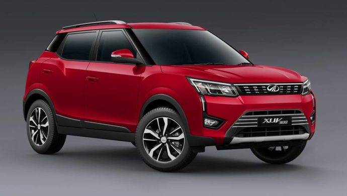 Mahindra XUV300 Red