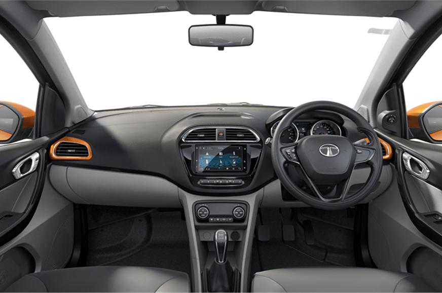 Tata Tiago XZ+ Dashboard and Cabin