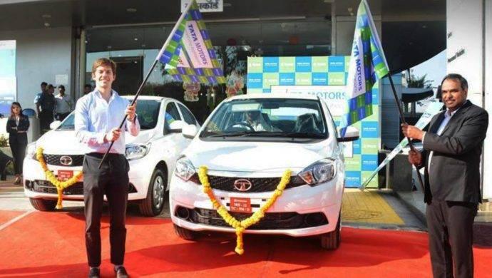 Tata Tigor EV Rent With Zoomcar