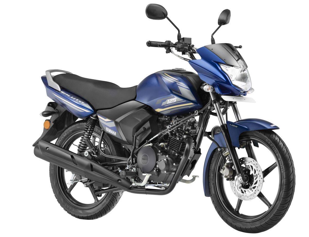 Yamaha Saluto 125 Armada blue
