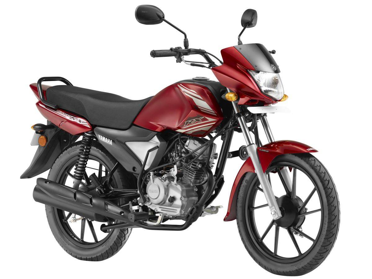 Yamaha Saluto RX Ritzy Red