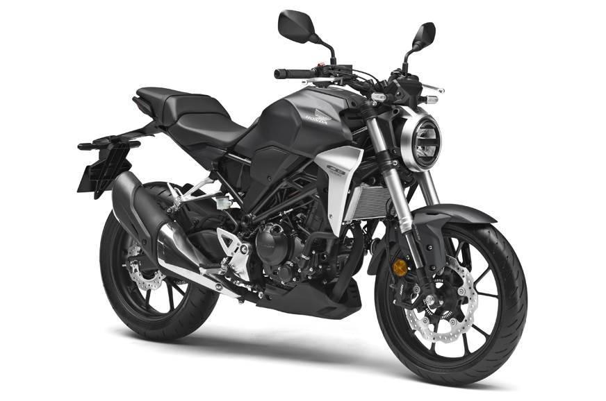 Honda CB300R Grey