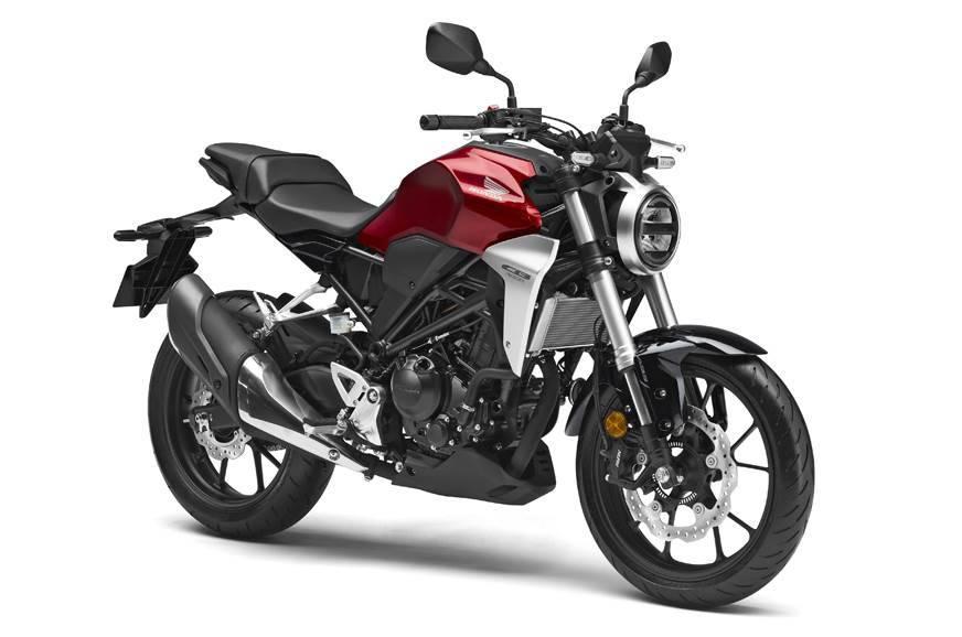 Honda CB300R Red