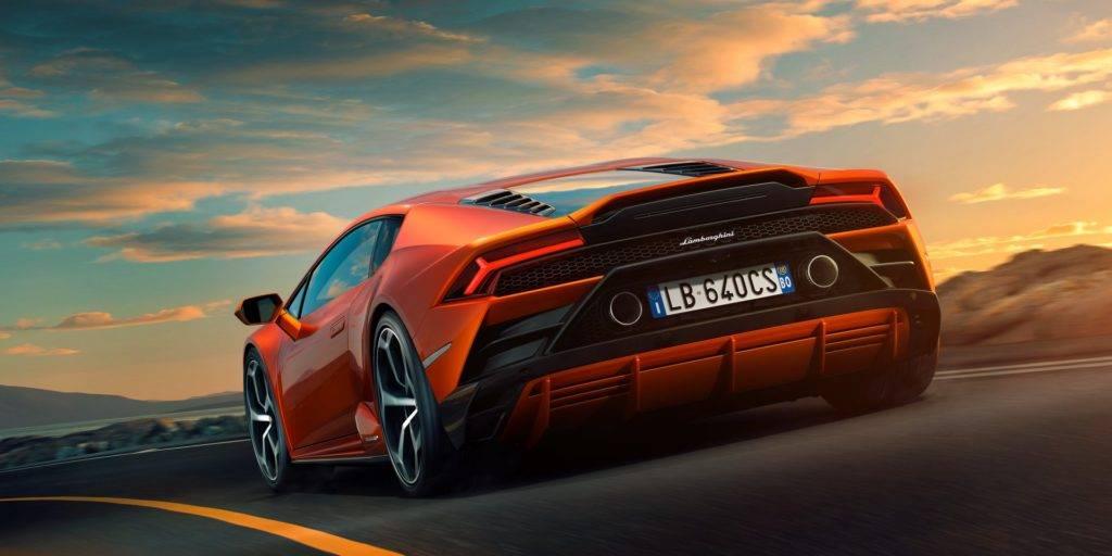 Lamborghini Huracan Evo - Rear View