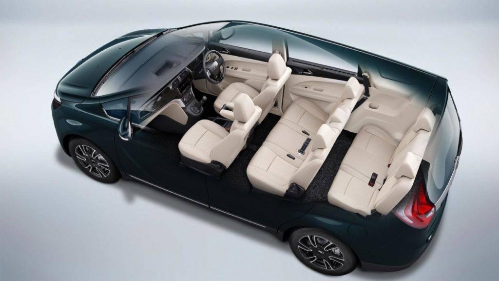 Mahindra Marazzo 8 Seater interior