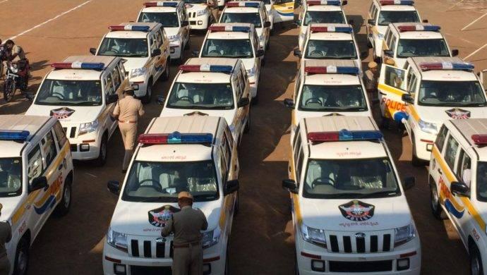 Mahindra TUV300 Joins Andhra Pradesh Police Fleet
