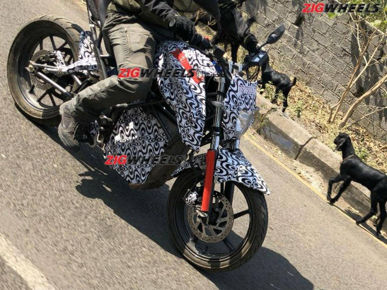 Tork T6X Spied on Road