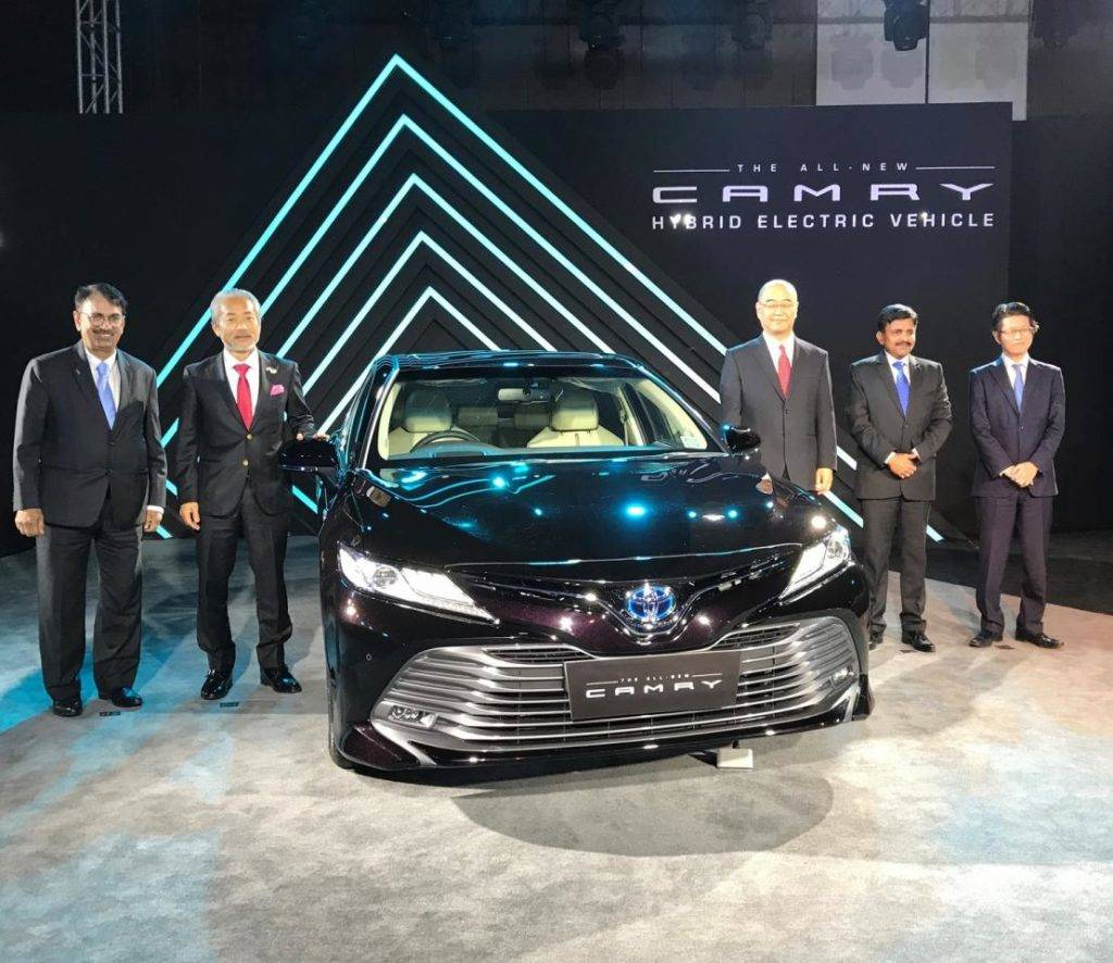 New Toyota Camry Hybrid Launched In India