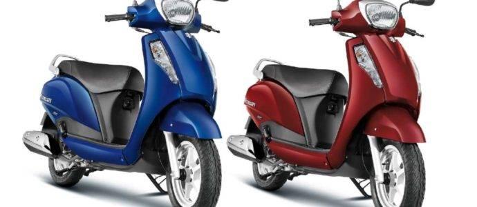 Suzuki Access 125 Drum Brake With CBS