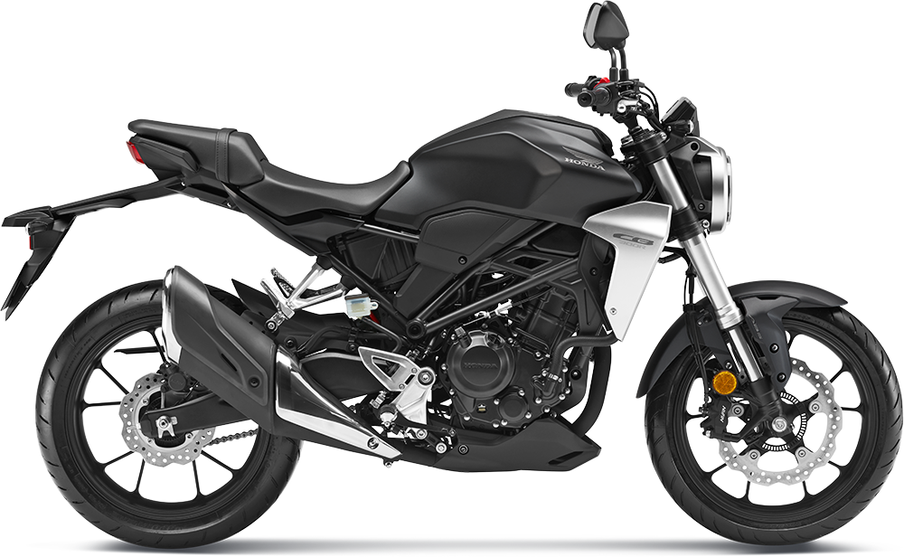Honda CB300R Black Colour