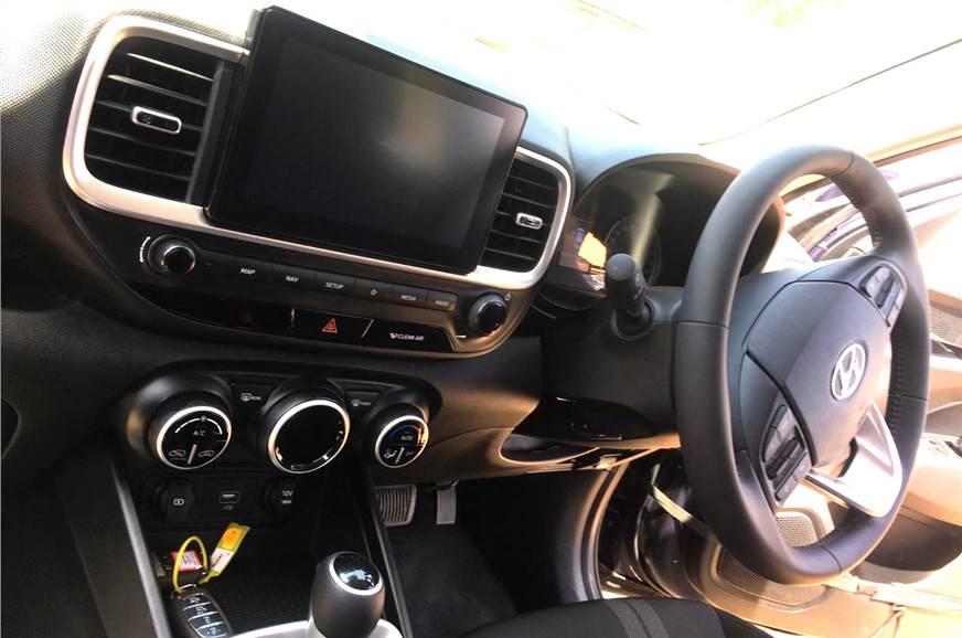 Hyundai Venue leaked Interior