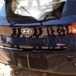 Hyundai Venue leaked Rear Image