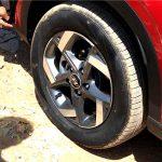 Hyundai Venue leaked Tyres