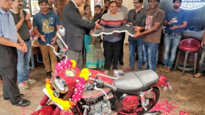Jawa Classic first delivery