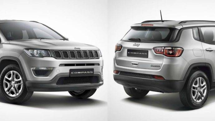 Jeep Compass Sport Plus India