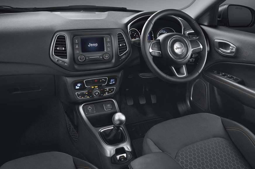 Jeep Compass Sport Plus interior
