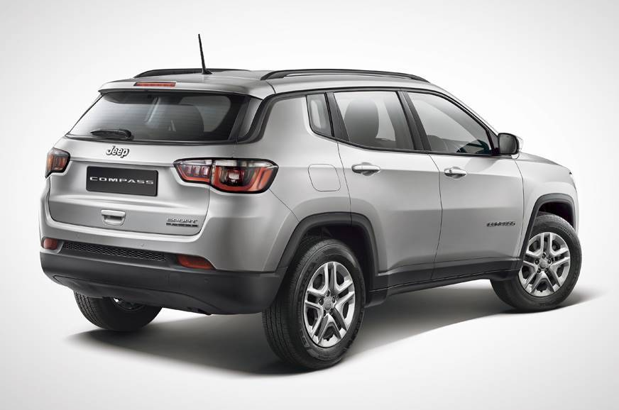 Jeep Compass Sport Plus rear