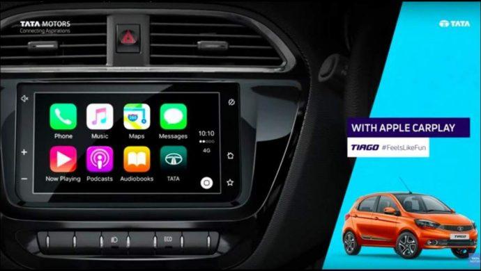 Tata cars with Apple Carplay