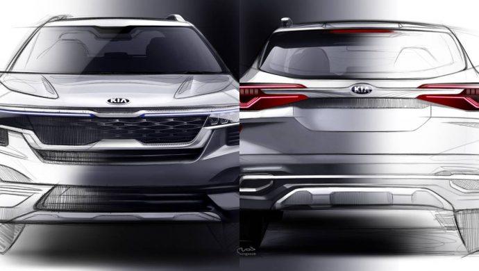 Kia Motors New Global Compact SUV Sketches