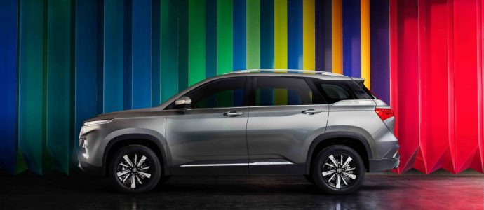 MG Hector - India's first internet car