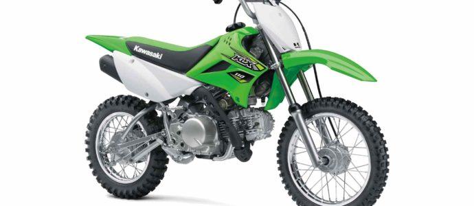 Dirt Motorcycle - Kawasaki KLX 110