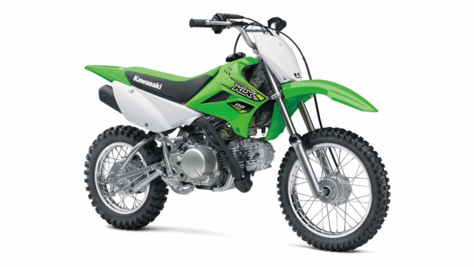 Dirt Motorcycle - Kawasaki KLX 110