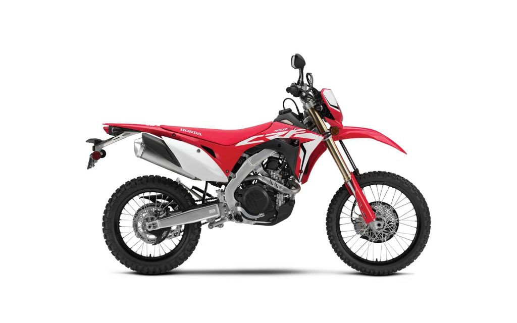 Dual-sport Motorcycle - Honda CRF450L