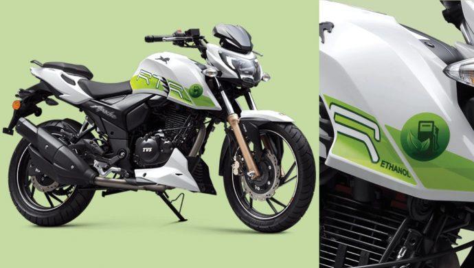 First Ethanol Based Bike In India