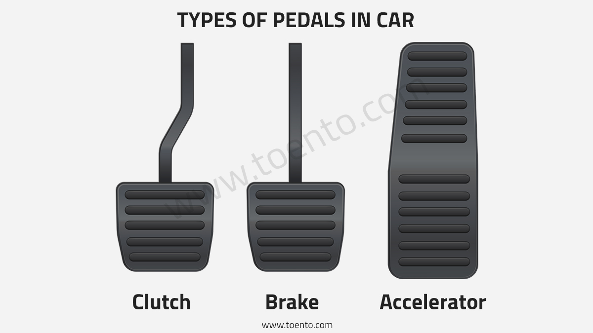 Types Of Car Pedals