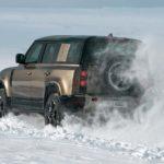 Land Rover Defender Suv Rear View