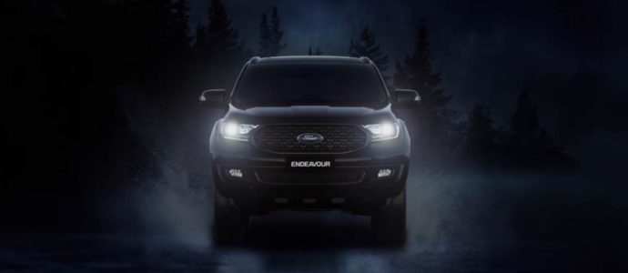 New 2020 Ford Endeavour Sport India