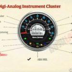 Royal Enfield Meteor 350 Leaked Brochure Instrument Claster