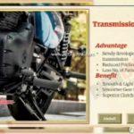 Royal Enfield Meteor 350 Leaked Brochure Transmission System