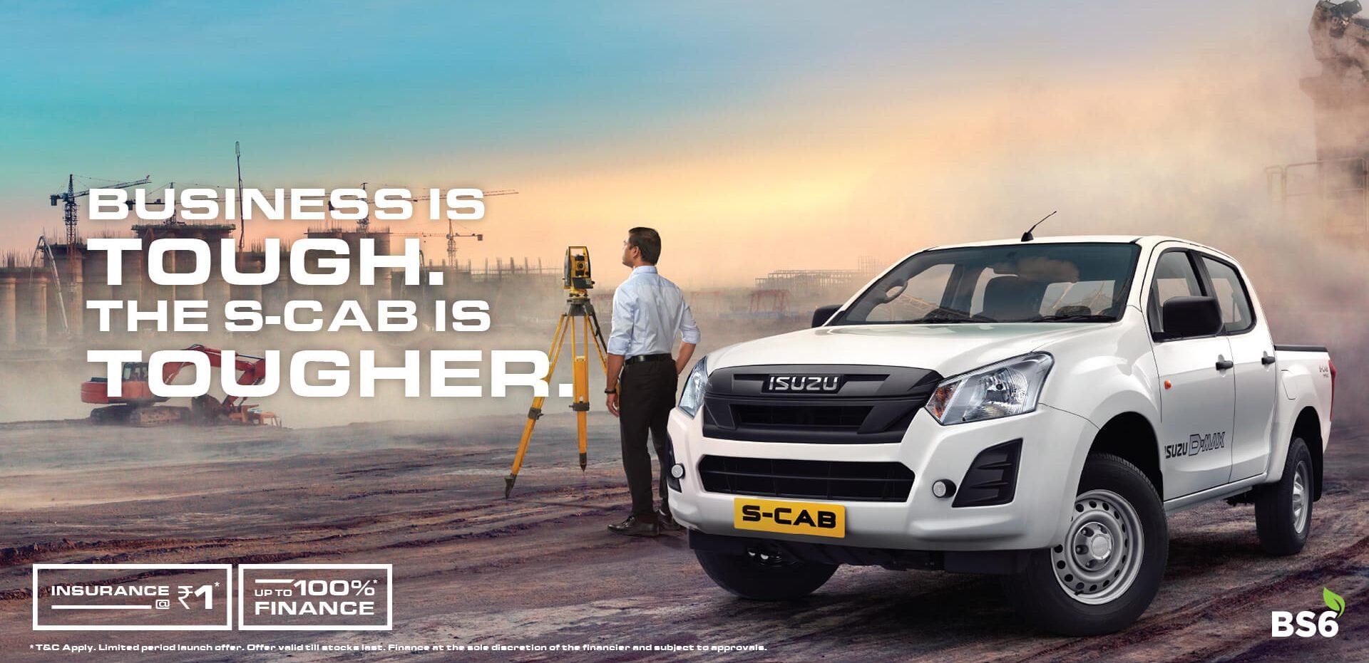 Bs6 Isuzu S Cab India