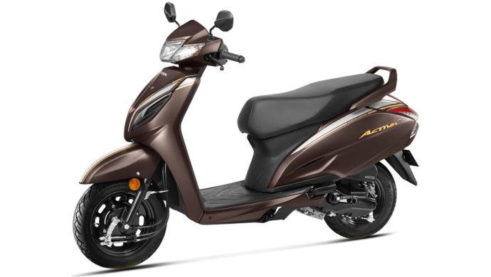 Honda Activa 20th Anniversary Special Edition