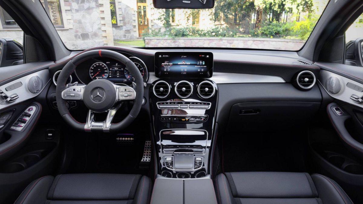 Mercedes Amg Glc 43 4matic Coupe Interior