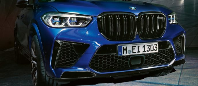 New X5 M Competition Front