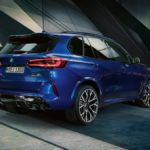 New X5 M Competition Rear View