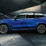 New X5 M Competition Side View