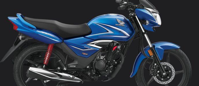 Honda Shine Blue