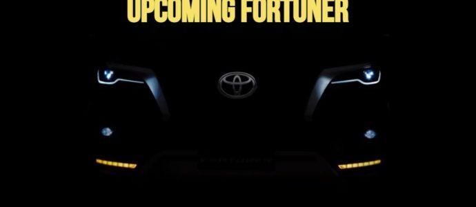 Upcoming Fortuner 2021 Teaser