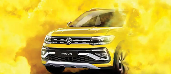 Volkswagen Teases Taigun Compact Suv
