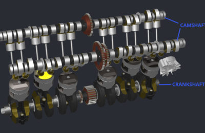 Camshaft And Crankshaft