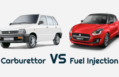 Maruti 800 with Carburettor And Swift with Fuel Injection