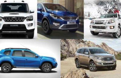 Best Off Road Cars In India