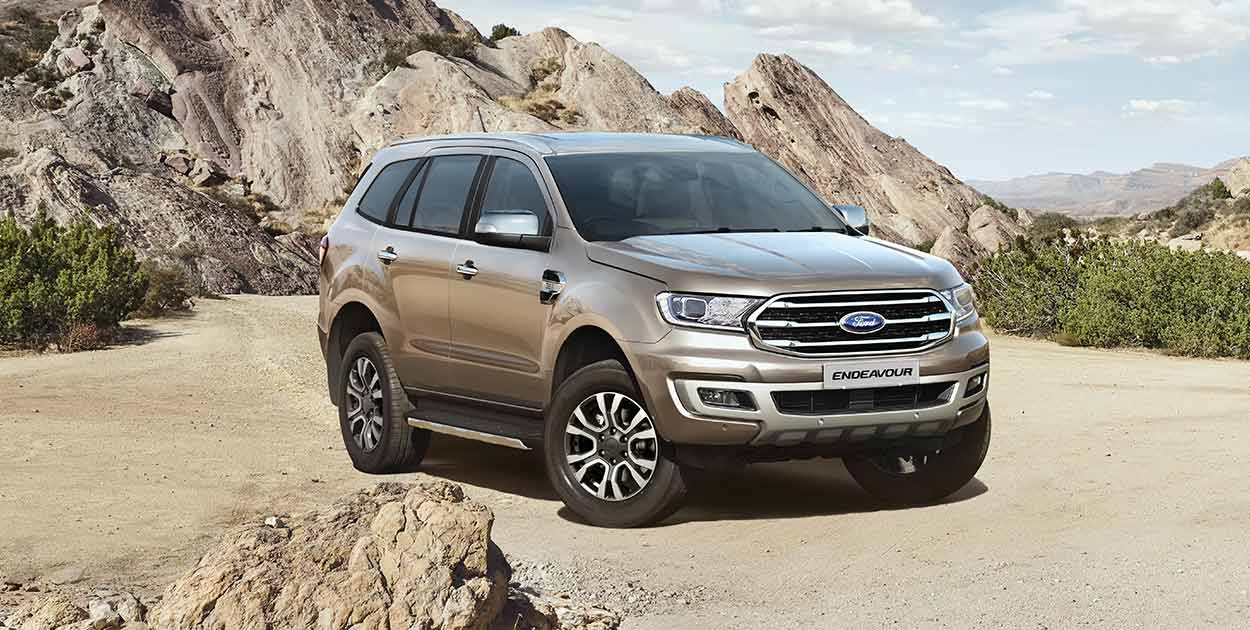 Off-Road Vehicle - Ford Endeavour