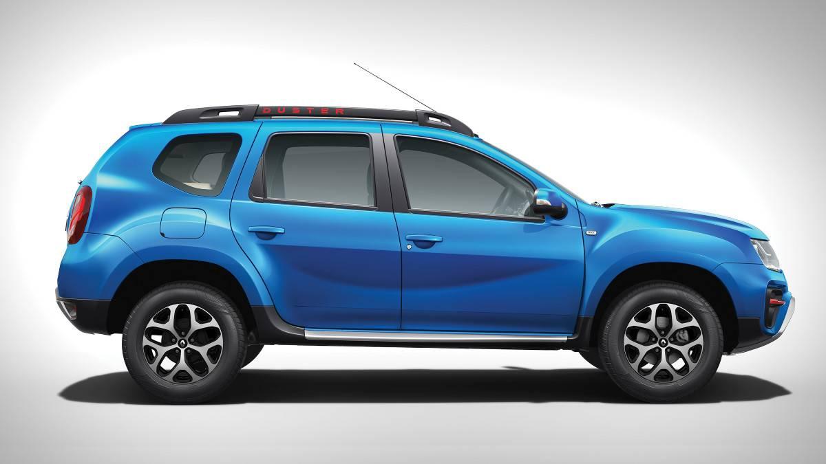 Renault Duster Blue