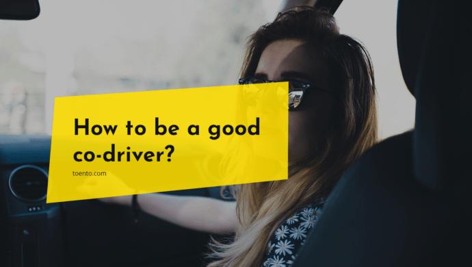 Good Co Driver